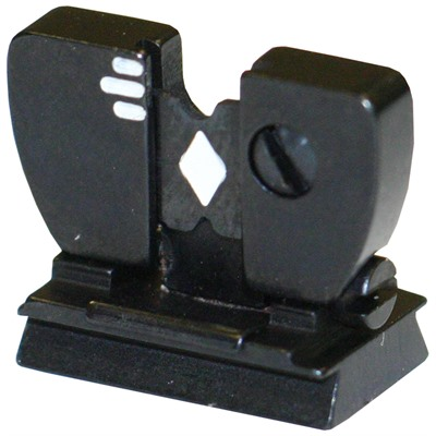Flat Top Folding Leaf Sight With Windage 006911 Marble 69wh Rear Sight : Rifle Parts by Marble Arms for Gun & Rifle