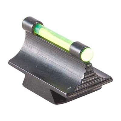 "Contour Glow Sights Ramp Mounted Glow Sight 37 Mr Green 375"" Ht U.S.A. & Canada"