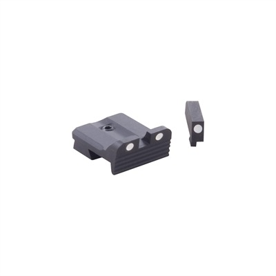 Mgw 1911 Fixed White Dot Sight Sets - Mgw 1911 Auto Fixed Sight Combos, Irs/Wd/Nt