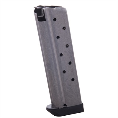 Metalform 1911 Springfield Style 9rd 9mm Magazines - Standard Mag W/Bumper