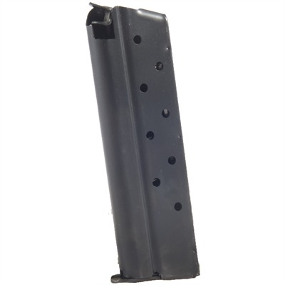 1911 9mm Magazines - 9mm Govt/Comm Blue 9 Rd. Flat Follower W/Removable Base