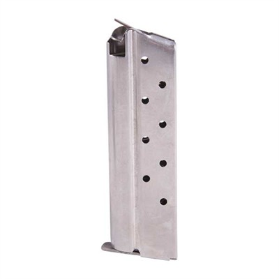 1911 Auto Magazines - 9mm Govt/Comm S/S 9 Rd. Flat Follower W/Removable Base