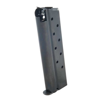 1911 9rd 38 Super Magazine - .38s Govt/Comm Blue 9 Rd. Flat Follower W/Welded Base