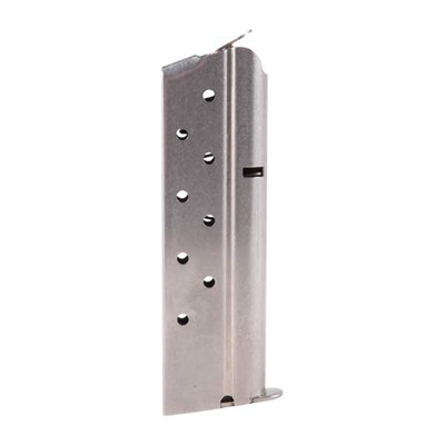 Metalform 1911 8rd 40s&W Magazines - .40 S&W/Govt/Comm S/S 8 Rd. Flat Follower W/Welded Base