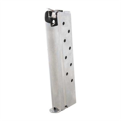 Metalform 1911 8rd 40s&W Magazines - .40 S&W/Govt/Comm S/S 8 Rd. Flat Follower W/Removable Base