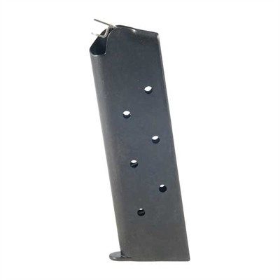 1911 45acp Magazines - .45 Govt/Comm Blue 8 Rd. Flat Follower W/Welded Base