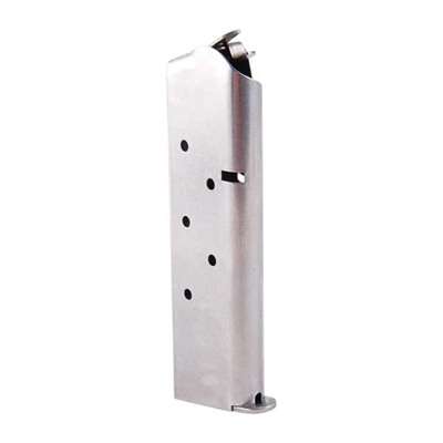 Metalform 1911 45acp Magazines .45 Govt/Comm S/S 8 Rd. Flat Follower W/Welded Base Online Discount