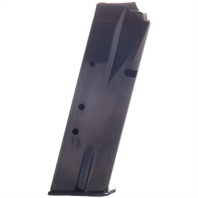 Mec-Gar Browning Hi-Power 9mm Magazines - Browning Hp 9mm Blue 13 Rnd.