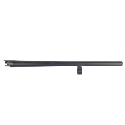 "Matte Blue, Integral Scope Base, Rifled Bore, 12 Gauge, 24"" - Matte Blue, Plain, Bead Sight, Cy"