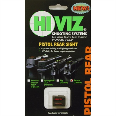 Pistol Rear Sights - Tr2109-R Taurus Pt 1911 Rear Sight, Red