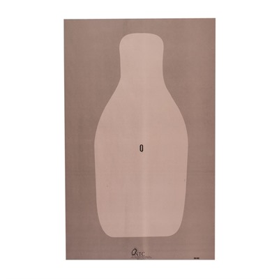 National Target Fbi Qualification Target - Fbi Q Targets 100-Pack