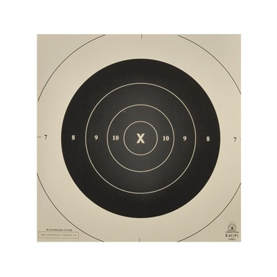 National Target B-6 (Cp) 50 Yard Slow Fire Repair Center Targets - B-6 Centers, Per 100