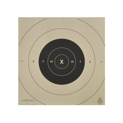 National Target B-8 (Cp) 25-Yard Rapid Fire Repair Center - B-8 Centers, Per 100