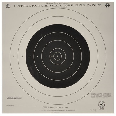 Tq-4 (P) 100-Yard Offical Practice Target