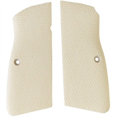 Browning Hp Combat Grips Brown Hp White Micarta Checkered Grip : Handgun Parts by Navidrex for Gun & Rifle