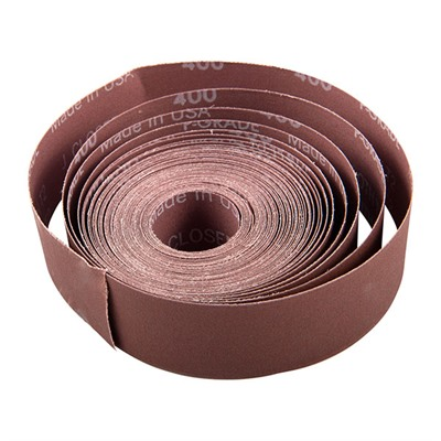"Metalite Cloth Rolls - E-Z Metalite Cloth Roll, 10 Yd X 1 1/2"", 400 Grit"