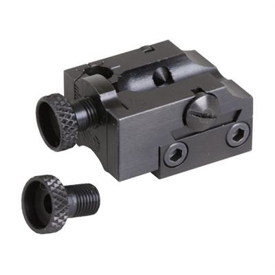 Necg Rifle  Rimfire Receiver Rear Sight - Rifle  Adjustable Peep Rimfire Receiver Rear Sight Black