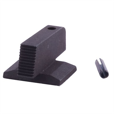 "1911 Front Black Dovetail Sights - Govt, Black, .225"" Height"