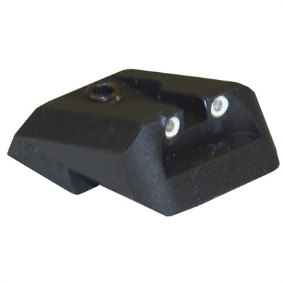 Novak 1911 Rear Night Sights - Trit. Lm 1911 2-Dot Wn,Frt St .175