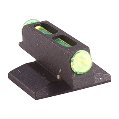 Novak Fiber Optic Front Sight Green - Fiber Optic Front Sight, Green, .180