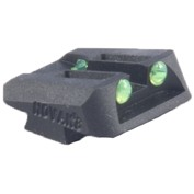 "Fiber Optic Rear Sights For Glock 060"" Rear Sight Green Discount"