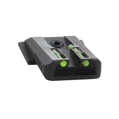 S&W M&P Lo-Mount Fiber Optic Rear Sights