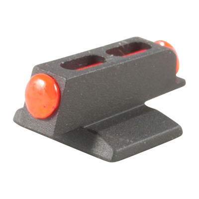 Novak 1911 Mega Dot Fiber Optic Front Sights - Mega Dot Fiber Optic Front Sight Red