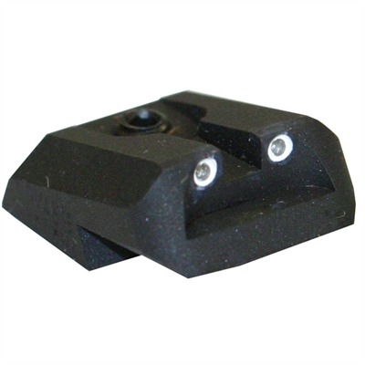 Novak 1911 Rear Night Sights - Trit. Lm Brwn Hp 2-Dot,Frt St .190