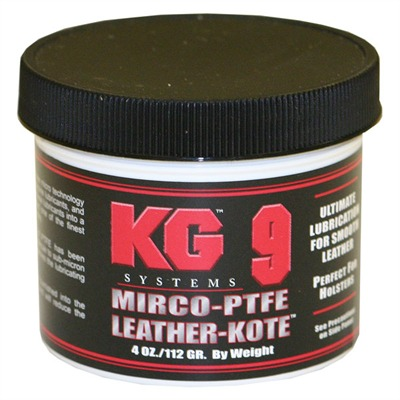 Kg Products Leather-Kote - 4 Oz. Leather-Kote