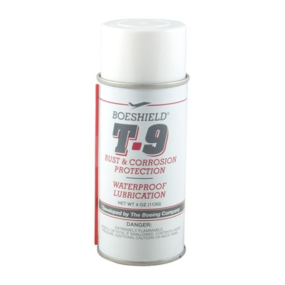 T-9 Waterproof Lube - Boeshield, 4 Oz. Aerosol