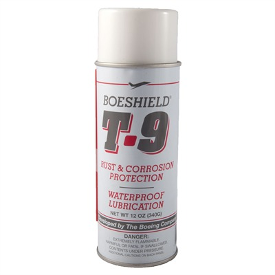 T-9 Waterproof Lube - Boeshield, 12 Oz. Aerosol