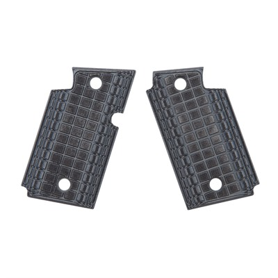 Pachmayr G-10 Tactical Pistol Grips For Sig 938 - Sig 938 Gray/Black Grappler G-10 Grips