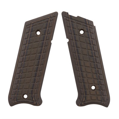 Pachmayr G-10 Tactical Pistol Grips For Ruger Mkii/Mkiii - Ruger Mkii/Iii Green/Black Grappler G-10 Grips