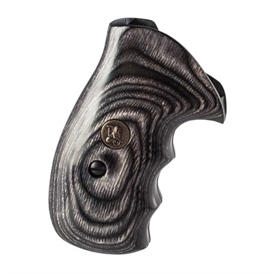 Pachmayr Renegade Wood Laminate Grips S&W K,L Frame - S&W K,L Frame Silvertone Smooth