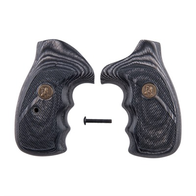 Renegade Wood Laminate Grips S&W N Frame - S&W N Frame Silvertone Checkered