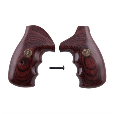 Renegade Wood Laminate Grips S&W N Frame - S&W N Frame Rosewood Smooth