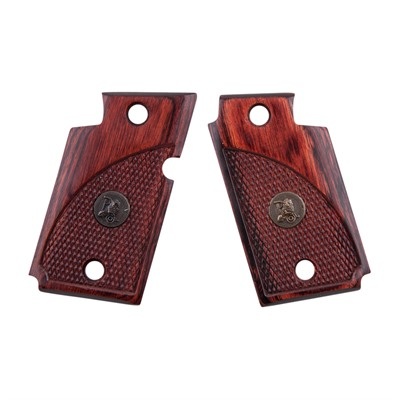 Pachmayr Renegade Wood Laminate Grips Sig 938 - Sig 938 Rosewood Checkered