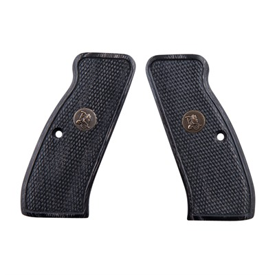 Pachmayr Renegade Wood Laminate Grips Cz 75 Cz 75 Silvertone Checkered