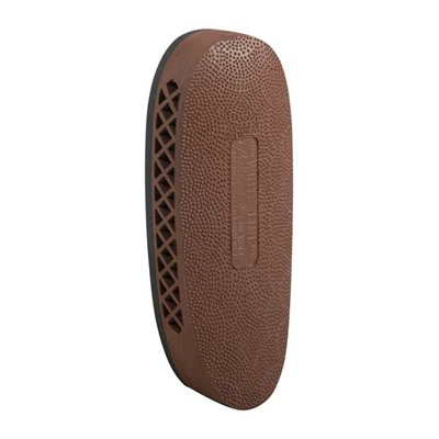 """Pachmayr F325b Deluxe Black Base Field Recoil Pad 1.15"""" Large Brown Stipple Face USA & Canada"""