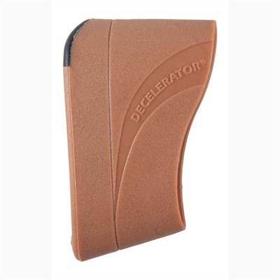 Decelerator® Speed-Mount Slip-On Recoil Pad - Medium Brown Decelerator Speed-Mount Slip-On Pad
