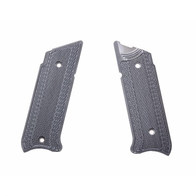 Pachmayr Ruger Mkiv G10 Greips - Ruger Mkiv G10 Grips Gray/Black Checkered
