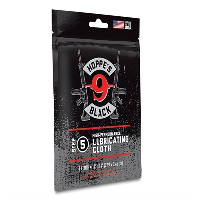 "Black Lubricating Cloth - Black Lubricating Cloth 11""x14"""