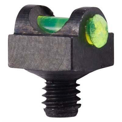 Marble Arms Expert Fiber Optic Shotgun Sight - 3/32 Shank, Green, 3-56 Thread