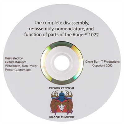 Ruger~ 10/22~ Disassembly/Reassembly Dvd