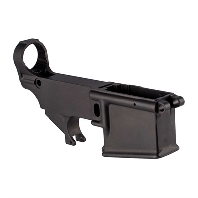 Precision Reflex Ar-15 A1 80% Lower Receiver Aluminum Black - Ar-15 A1 80% Lower Receiver Aluminum Black 5.56mm