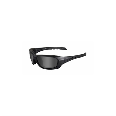 Wiley X Eyewear Gravity Shooting Glasses - Smoke Gray Gravity Shooting Glasses Black