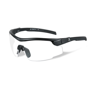 Remington Adult Safety Glasses - Remington Adult Glasses-Black Frame-Clear Lens