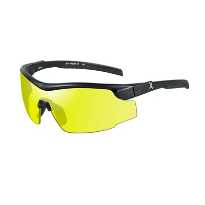 Remington Adult Safety Glasses - Remington Adult Glasses-Black Frame-Yellow Lens