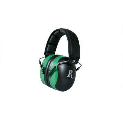 Rh 100 Adult Muff/Black & Green - Remington Adult Ear Muffs-Black And Green