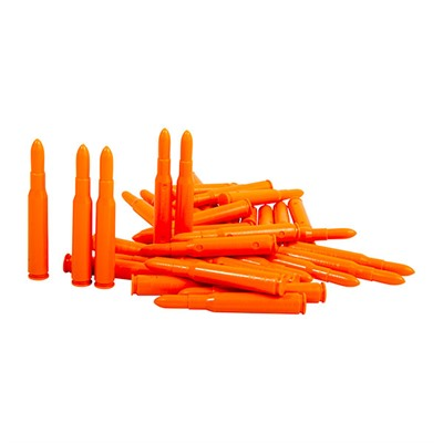 Precision Gun Specialties Saf-T-Trainers Dummy Rounds - 30-06 Springfield Orange Dummy Rounds 50/Pack